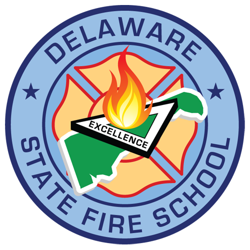 Image of the Delaware State Fire School seal