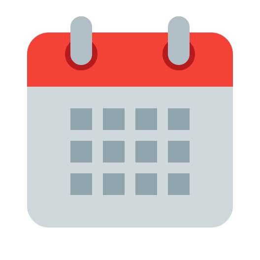 Picture of a calendar icon