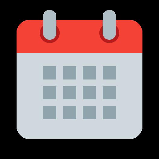 Picture of a calendar icon