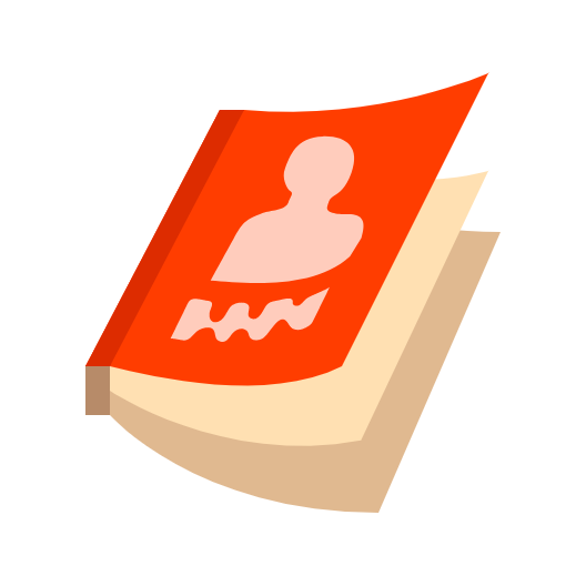 Picture of a course catalog icon