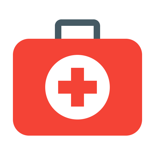 Picture of a medical case icon