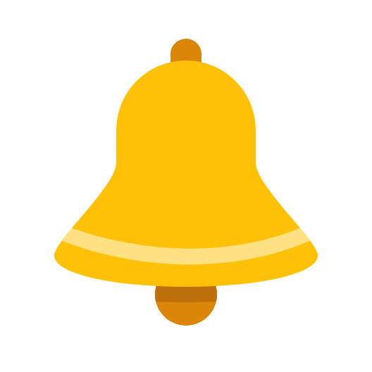 Picture of an alarm bell icon