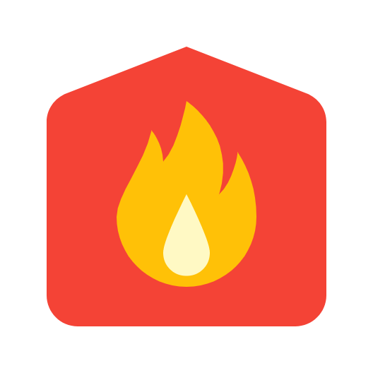 Picture of a fire house icon