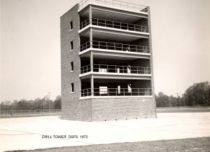 Photo of a Drill Tower for the DSFS, 1972