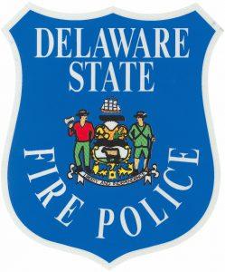 Delaware State Fire Police Shield