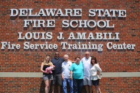 Photo of Amabili and his family
