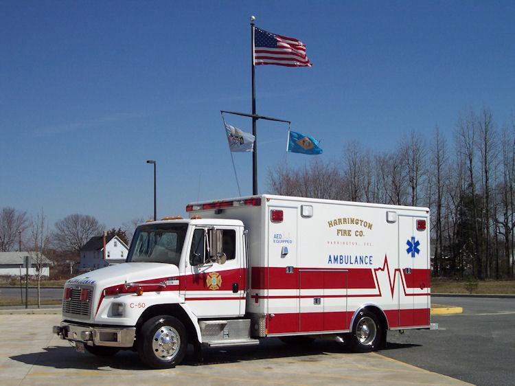 Photo of Harrington Fire Company Ambulance
