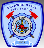 Delaware State Fire School Patch Image